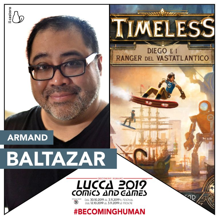 Armand Baltazar a Lucca Comics & Games